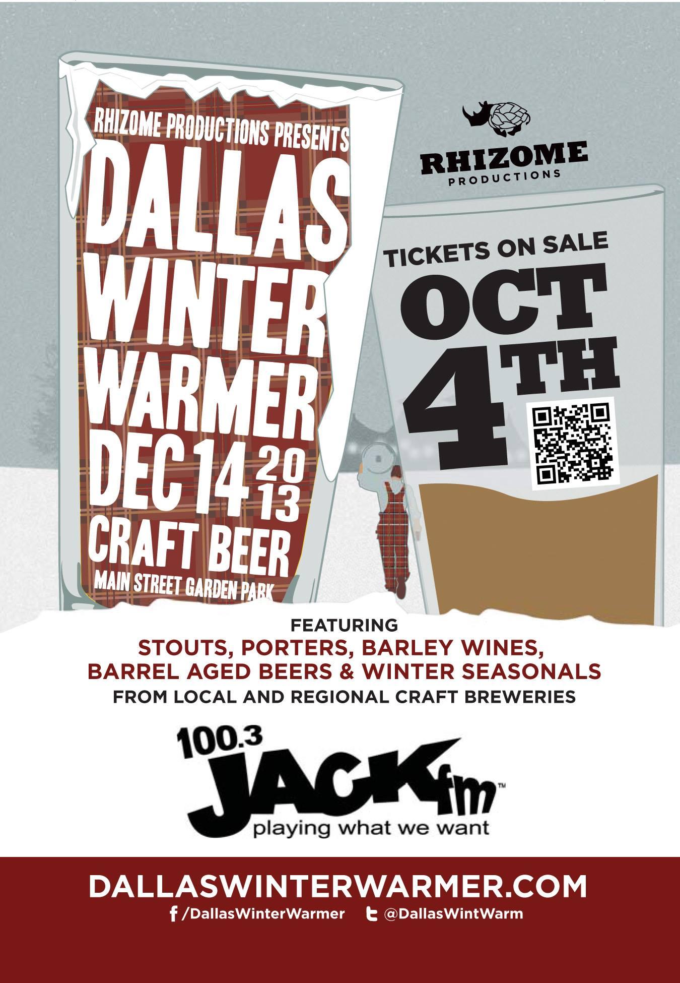 Dallas Winter Warmer 2013 - Beer in Dallas